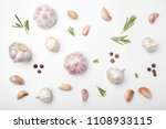 flat lay composition with... | Shutterstock . vector #1108933115