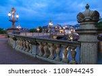 blauwbrug blue bridge over...   Shutterstock . vector #1108944245