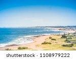 las rocas beach at la paloma ...   Shutterstock . vector #1108979222