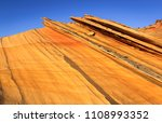 scenic landscapes in the desert ... | Shutterstock . vector #1108993352