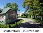 rural landscapes of latvia.... | Shutterstock . vector #1108996505
