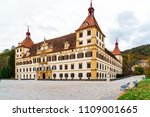 eggenberg baroque palace or... | Shutterstock . vector #1109001665