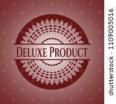 deluxe product realistic red... | Shutterstock .eps vector #1109005016
