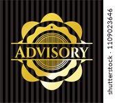 advisory shiny emblem | Shutterstock .eps vector #1109023646