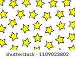 irregular template containing... | Shutterstock . vector #1109023802