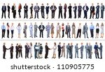 set of business people isolated ... | Shutterstock . vector #110905775