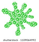 blot area created from apply... | Shutterstock .eps vector #1109064992