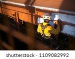 rope access ndt inspector... | Shutterstock . vector #1109082992