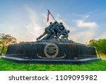 washington dc  virginia  usa  ... | Shutterstock . vector #1109095982