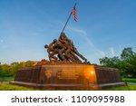 washington dc  virginia  usa  ... | Shutterstock . vector #1109095988