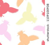 seamless vector pattern with... | Shutterstock .eps vector #1109100938