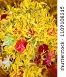 buddha and hindu flower...   Shutterstock . vector #1109108315