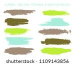 minimal label brush stroke... | Shutterstock .eps vector #1109143856