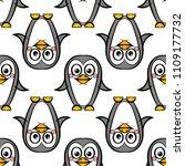 vector seamless pattern of... | Shutterstock .eps vector #1109177732