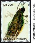 sao tome and principe   circa... | Shutterstock . vector #1109183738