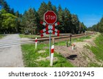 Unexploded Railway Crossing In...