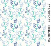 semless pattern with decorative ...   Shutterstock .eps vector #1109207822