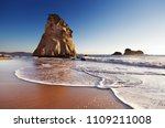 hoho rock  cathedral cove ... | Shutterstock . vector #1109211008