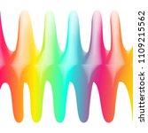 retro graphics. trendy texture. ... | Shutterstock .eps vector #1109215562