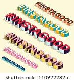 Isometric Hashtag   Instagood....