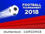 football sport poster design....   Shutterstock .eps vector #1109224418