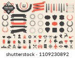 vintage retro vector logo for... | Shutterstock .eps vector #1109230892