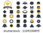 vintage retro vector logo for... | Shutterstock .eps vector #1109230895