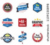 vintage retro vector logo for... | Shutterstock .eps vector #1109230898