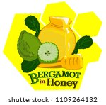 vector illustration of honey... | Shutterstock .eps vector #1109264132