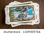 photo cards for fortune telling ... | Shutterstock . vector #1109305766