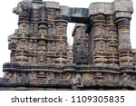 konark sun temple is a 13th... | Shutterstock . vector #1109305835