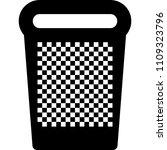 trash bin. recycle bin. delete. ... | Shutterstock .eps vector #1109323796