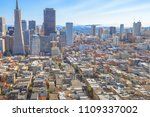 aerial view of san francisco... | Shutterstock . vector #1109337002