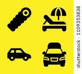 delivery truck  sleeping bag ... | Shutterstock .eps vector #1109353838