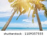 beautiful nature sea summer... | Shutterstock . vector #1109357555