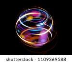 glow effect. ribbon glint.... | Shutterstock . vector #1109369588