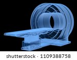 3d rendering x ray mri scan...   Shutterstock . vector #1109388758