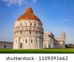 piazza dei miracoli known as... | Shutterstock . vector #1109391662