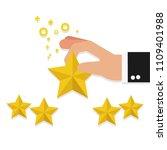 happy customer satisfaction... | Shutterstock .eps vector #1109401988