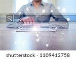 empty search bar. web site  url.... | Shutterstock . vector #1109412758