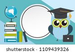 back to school education... | Shutterstock . vector #1109439326