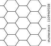 hexagons. honeycomb. mosaic.... | Shutterstock .eps vector #1109469338