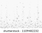 vector black underwater air... | Shutterstock .eps vector #1109482232