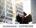 smile graduation university... | Shutterstock . vector #1109482388