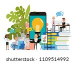 business people character... | Shutterstock .eps vector #1109514992
