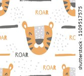 vector seamless pattern with...   Shutterstock .eps vector #1109517575
