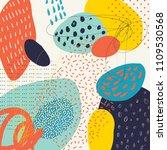creative doodle art header with ...   Shutterstock .eps vector #1109530568