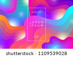 abstract vector background with ... | Shutterstock .eps vector #1109539028
