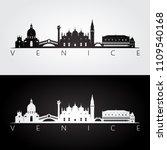 Venice Skyline And Landmarks...