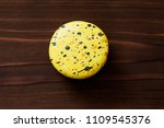 cookies with drops of food paint | Shutterstock . vector #1109545376